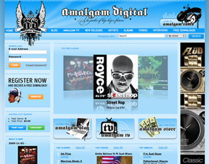 Mediasation - Amalgam Digital: Home Page (Lead Image)