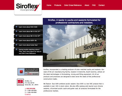Mediasation - Siroflex : Home Page (Lead)