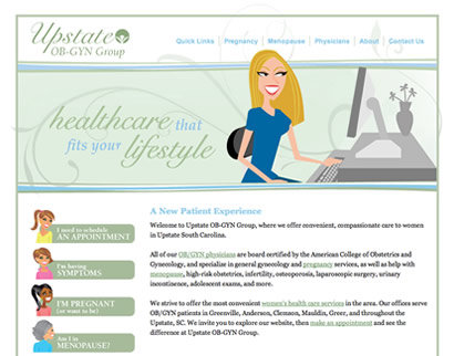 Mediasation - Upstate OB-GYN Group: Lead Image